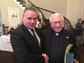 Father Padovani and Rep. Chris Smith